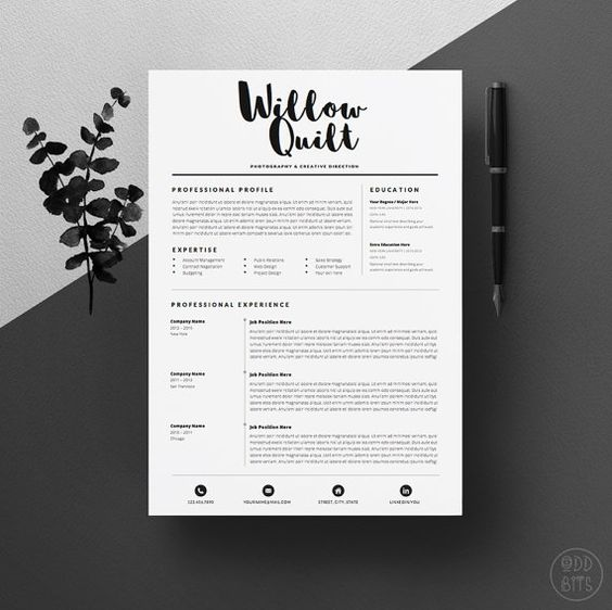 what your resume should look like in 2017 toppedupblog
